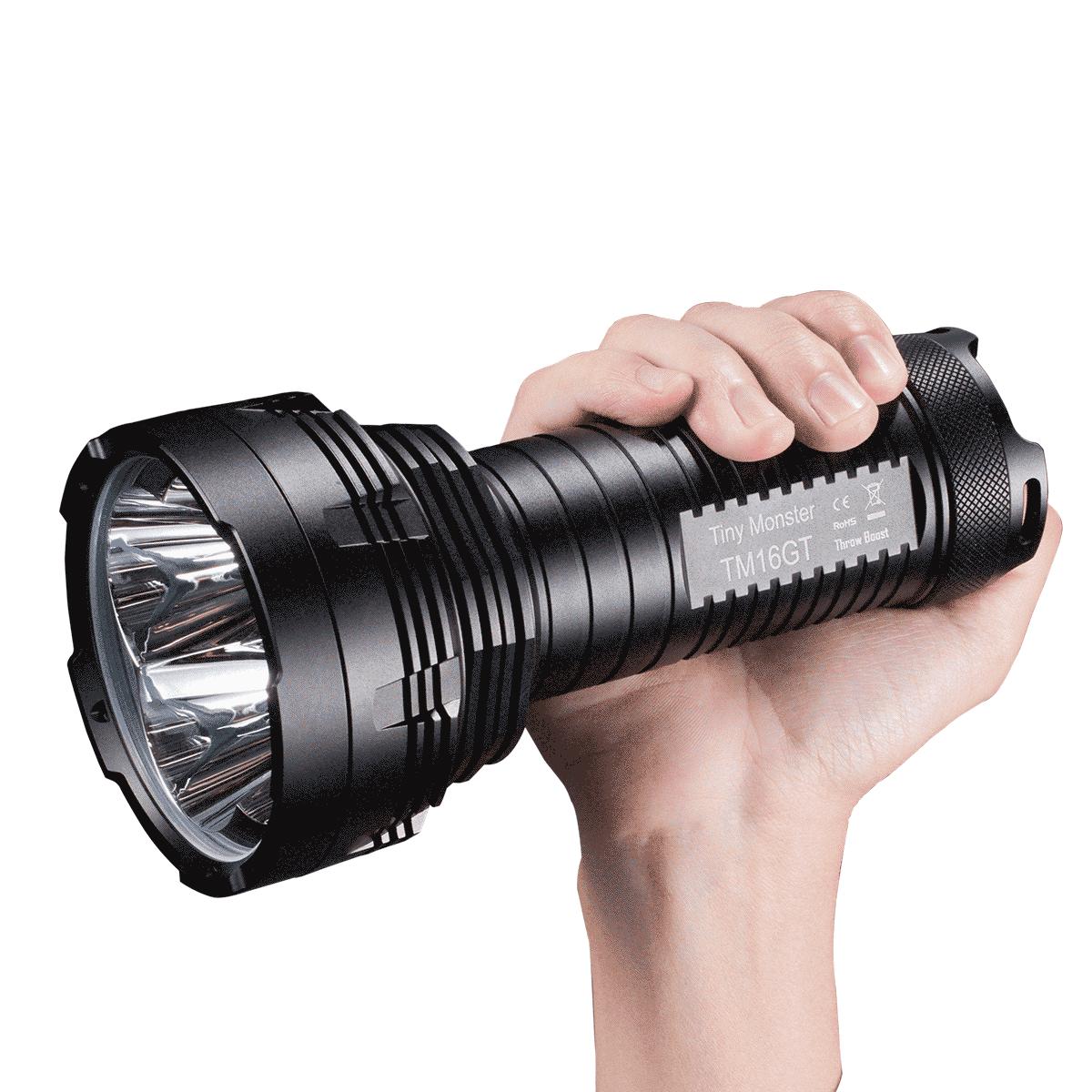 Nitecore TM16 4000 Lumen XM-L2 Handheld Search Flashlight Ultra Long Range 700m