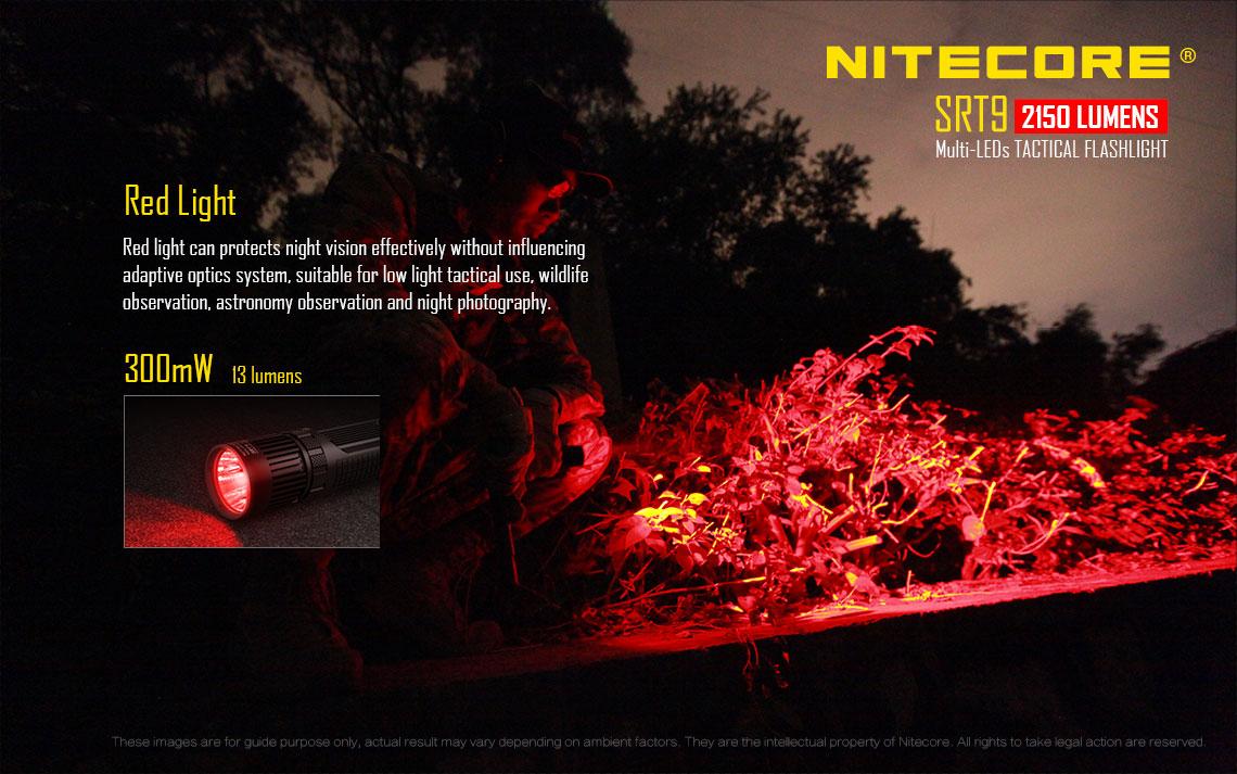ไฟฉาย Nitecore SRT9