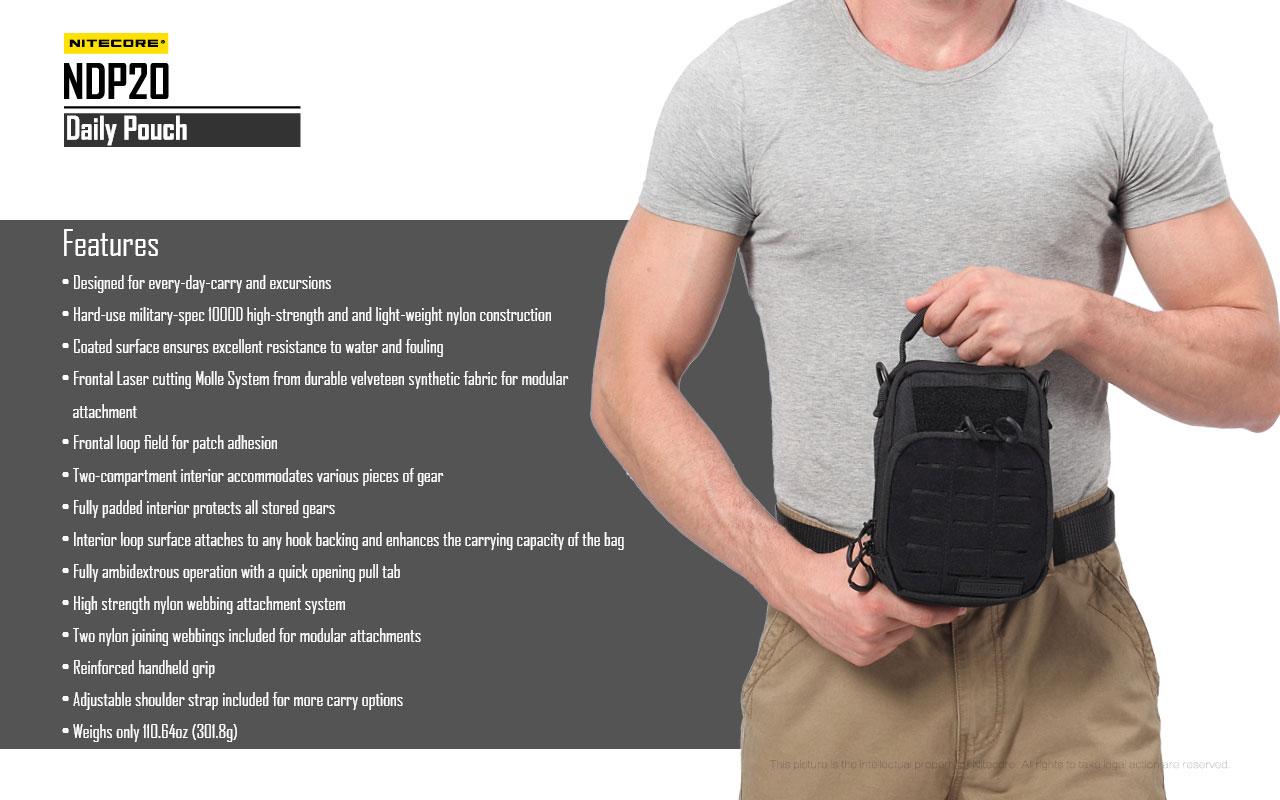กระเป๋า Tactical Nitecore NDP10