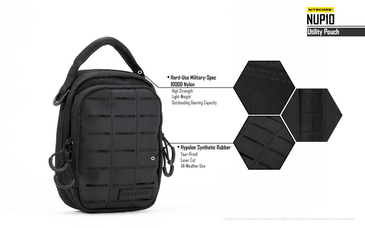 กระเป๋า Tactical Nitecore NUP10