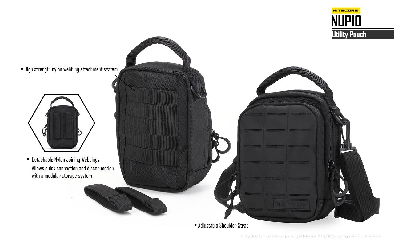 ์ืกระเป๋า Tactical Nitecore NUP10