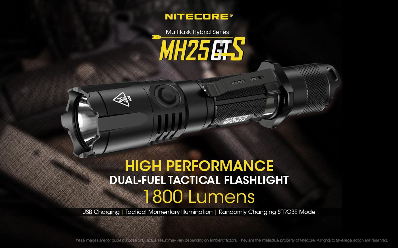 Nitecore MH25GTS