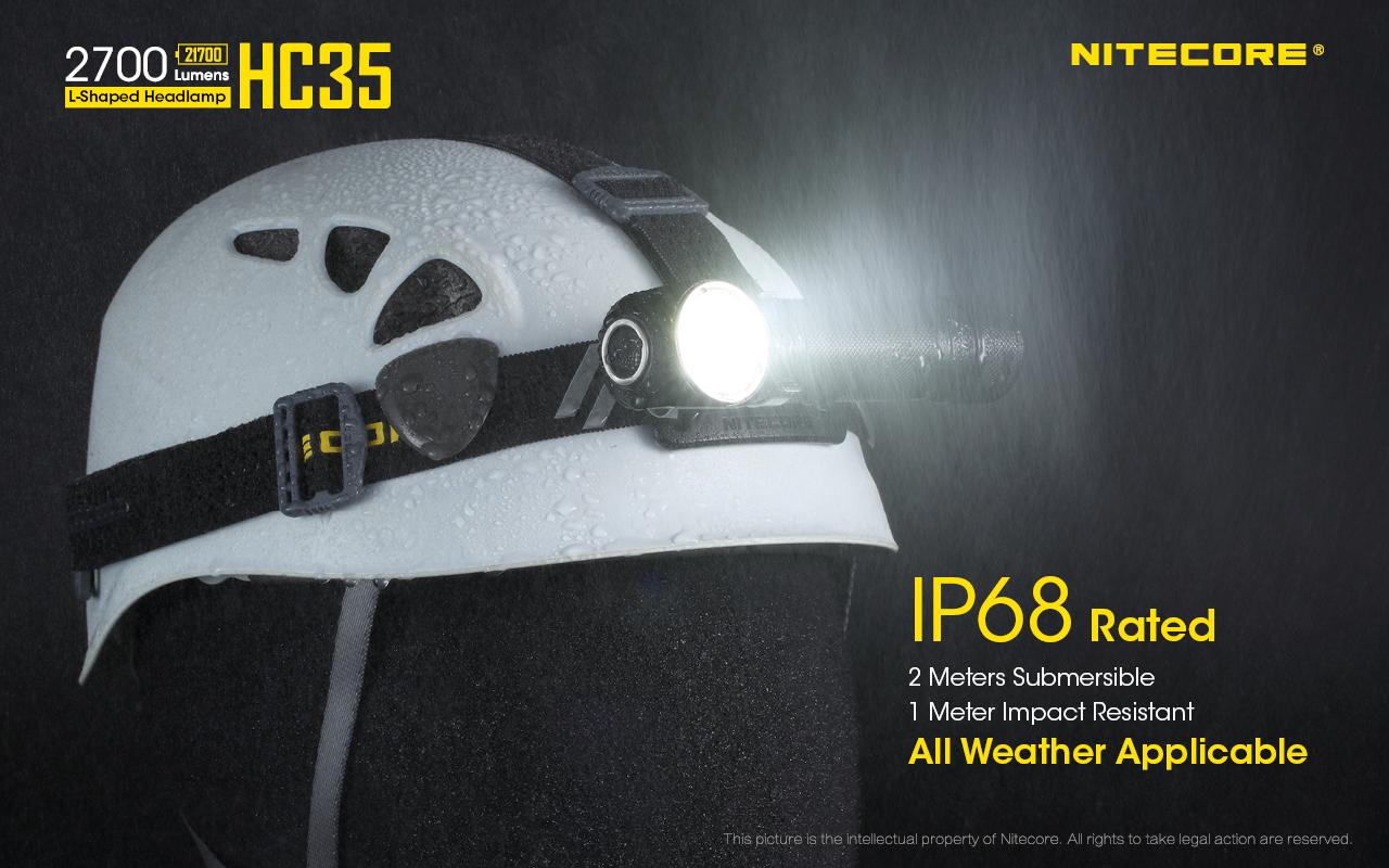 ไฟฉายคาดหัว Nitecore HC35