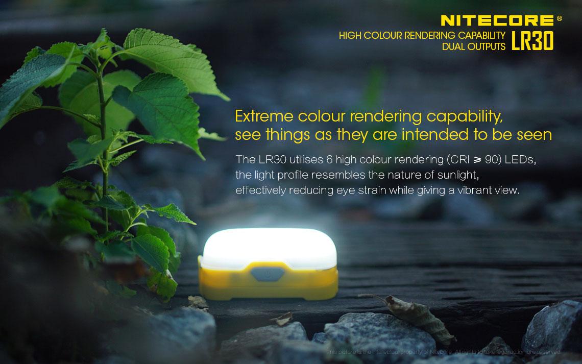 ตะเกียง LED Nitecore LR30