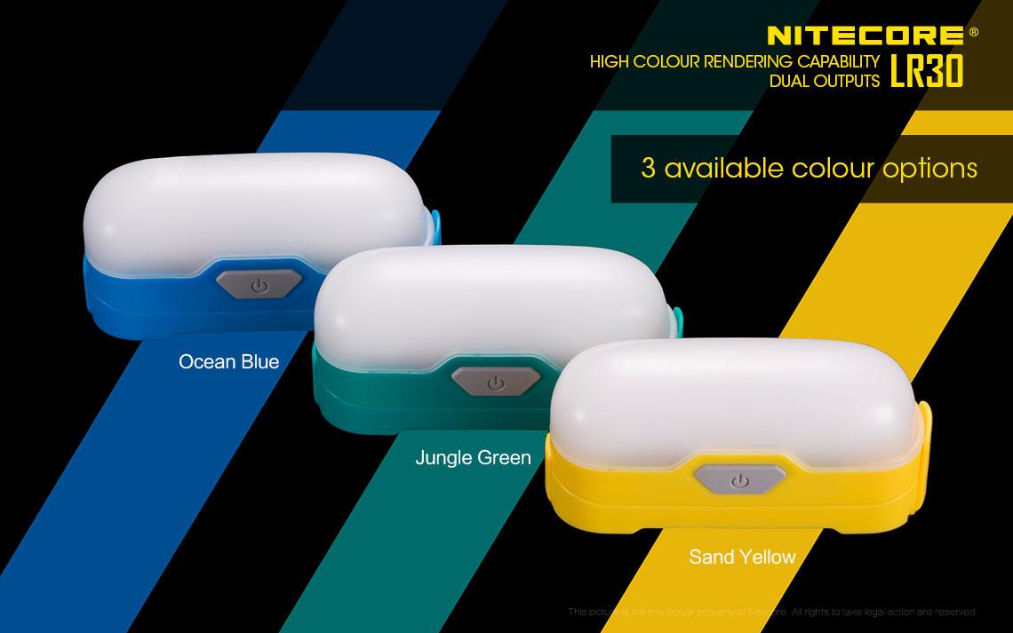 ืืตะเกียง LED Nitecore LR30