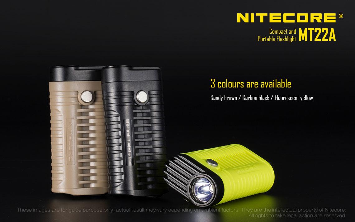 ไฟฉาย Nitecore MT22A