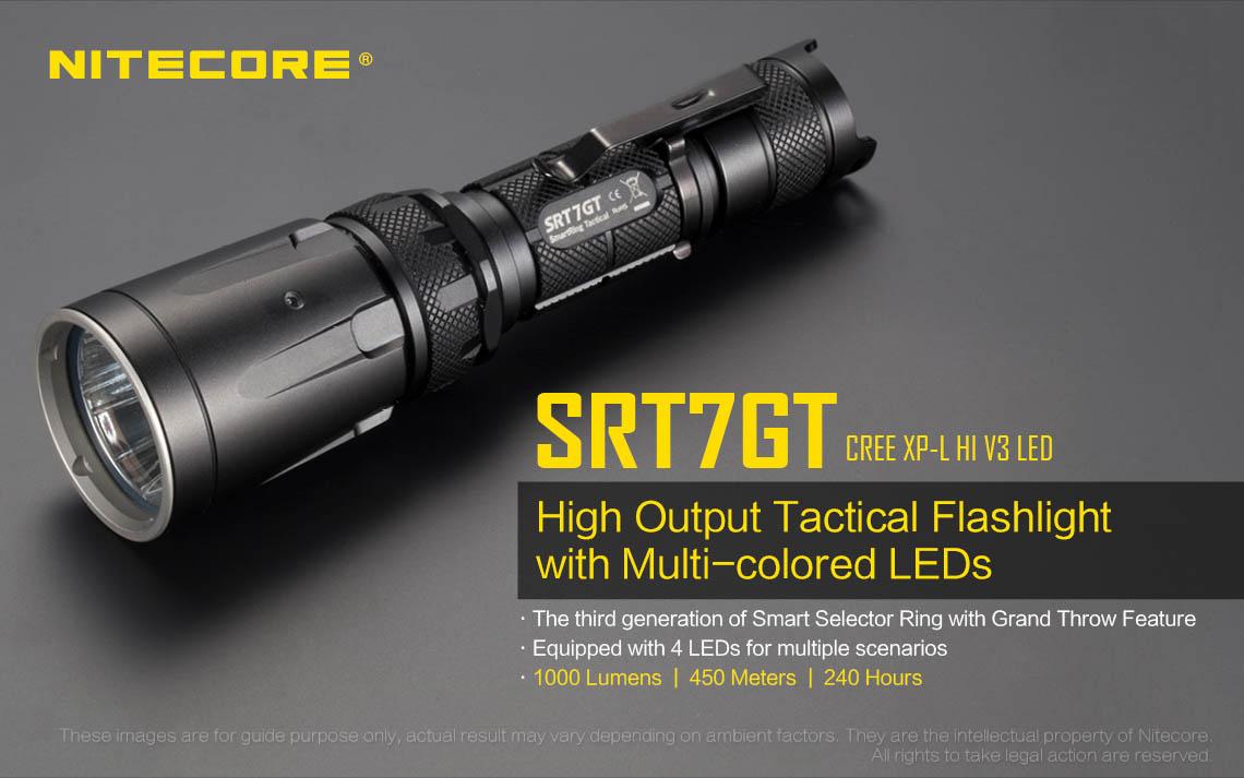 ไฟฉายNitecore SRT7GT